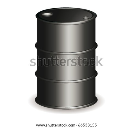 oil barrel vector. stock vector : Oil barrel.