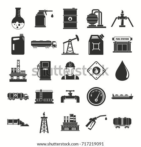 oil gas industry black