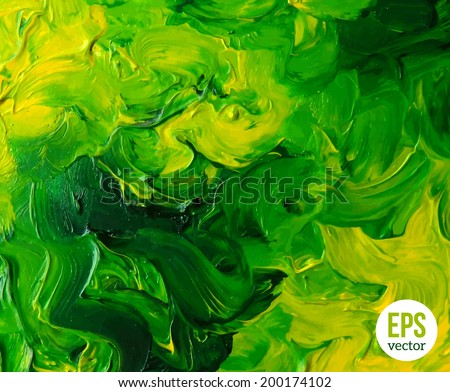 oil painted background vector