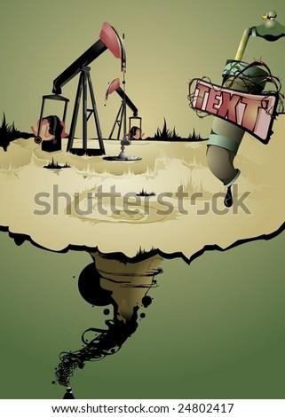 oil pumps in a strange world