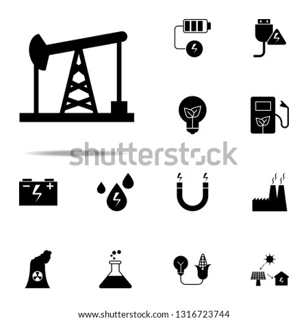 Oil Pumps Oil Pumps icon. Energy icons universal set for web and mobile