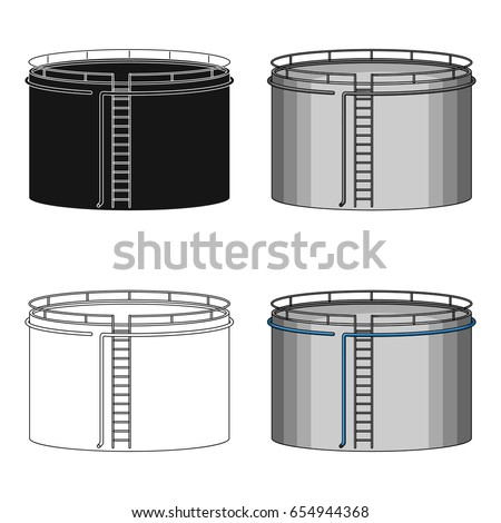 oil storage tankoil single