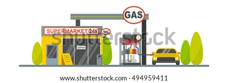 oil tank in cargo service
