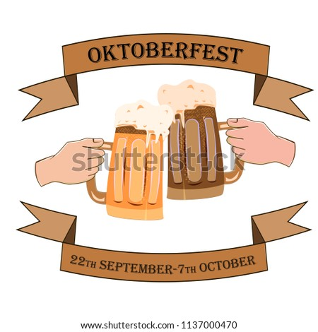 oktoberfest concept with the