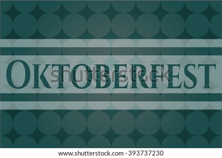 Oktoberfest poster or card