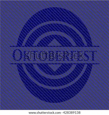 Oktoberfest with jean texture