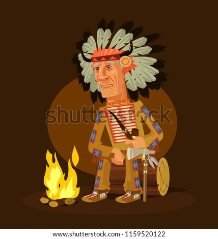 old american indian chief