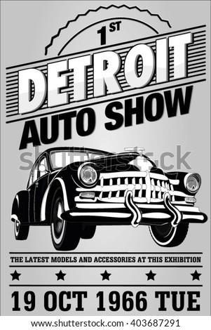 old auto show exhibition