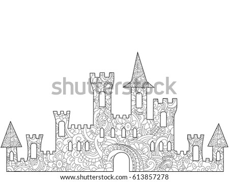 old castle coloring book for