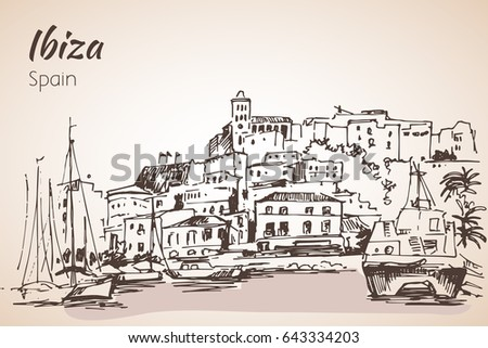 old city of ibiza town