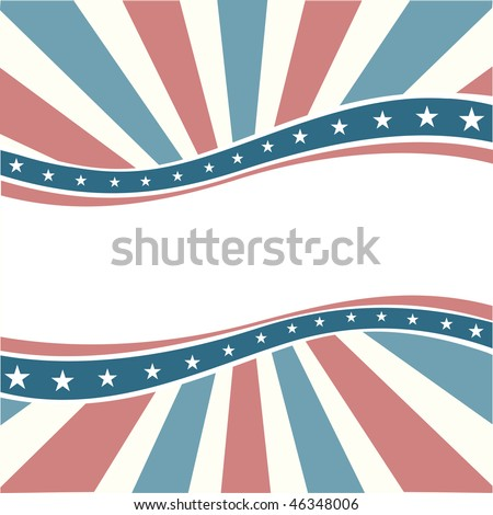 Old Colors American Wave Background