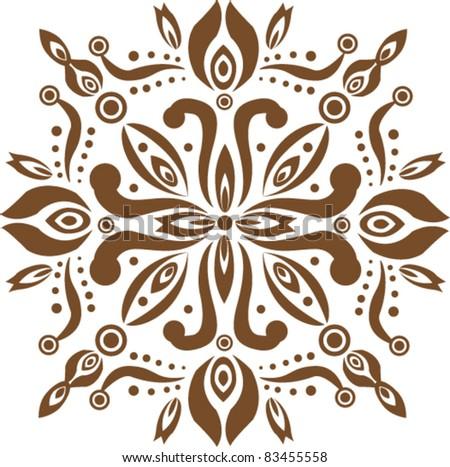 Old Decorative pattern