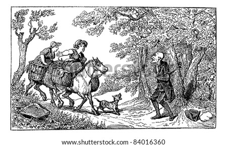 http://image.shutterstock.com/display_pic_with_logo/348289/348289,1315112992,1/stock-vector-old-engraved-illustration-of-dr-syntax-tied-with-a-rope-and-two-horseback-village-women-approach-84016360.jpg