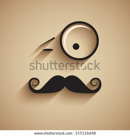 old fashioned gentleman vector