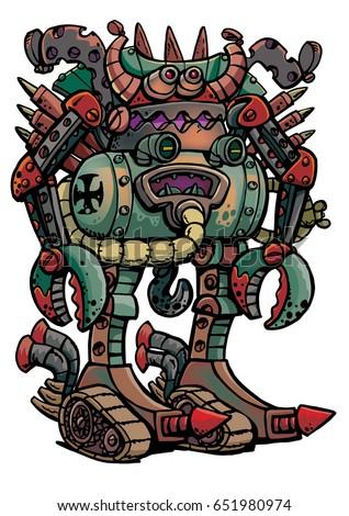 old german robot