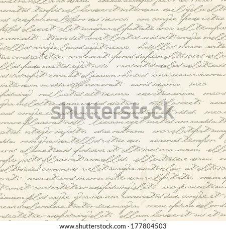 old grungy letter vector