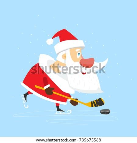 old kind santa claus play