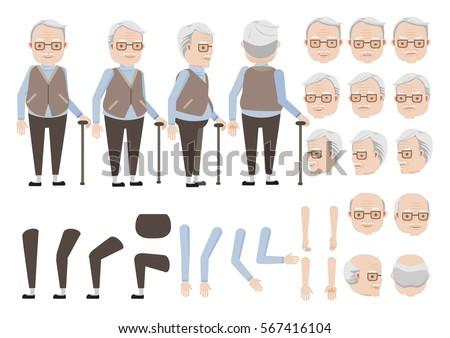 old man love old woman emoji