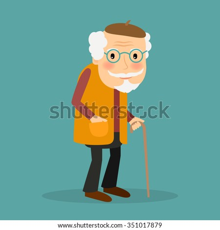 old man with glasses and
