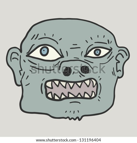 Old monster Stock photo ©