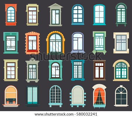 Royalty Free Collection Of Windows Hand Drawn 112976176