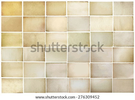 stock-vector-old-papers-set-vector