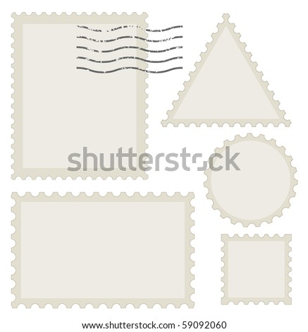 old post stamp set