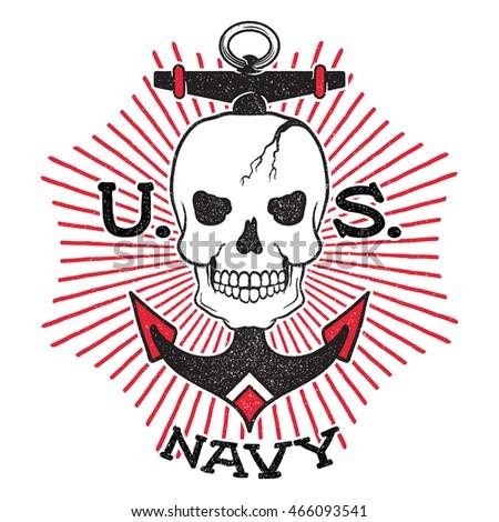 old school us navy design