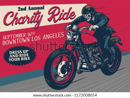 old style motorcycle event