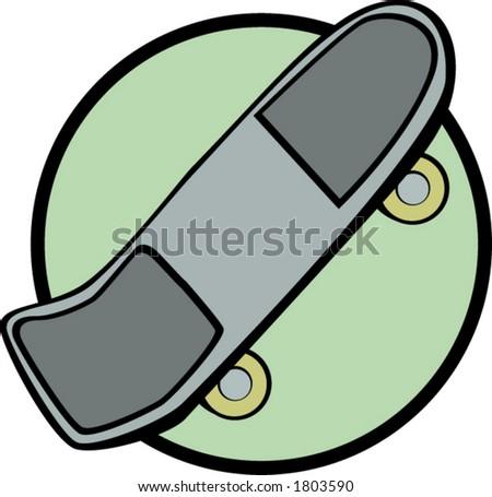 old style skateboard