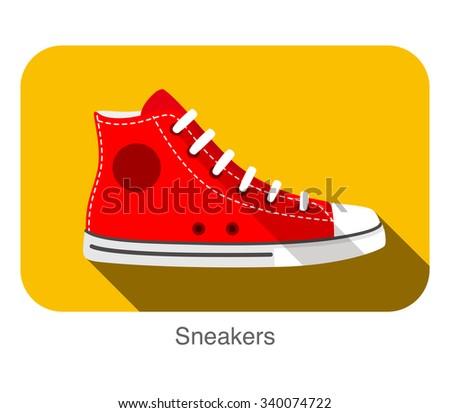 old style sport sneakers shoe