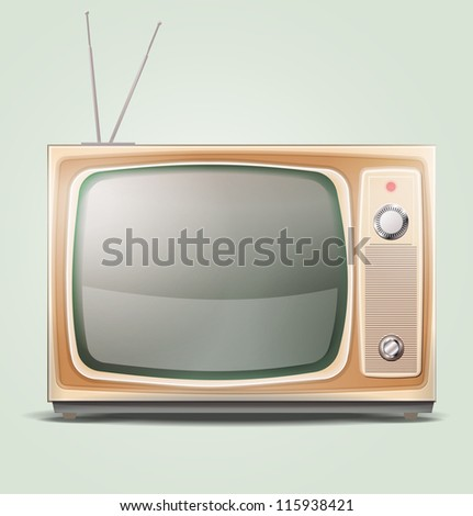 Old TV EPS 10