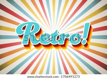 old vector retro vintage