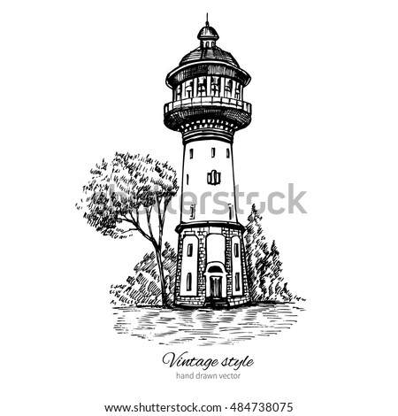 old water tower  symbol of