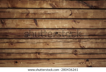Old wood texture, vector