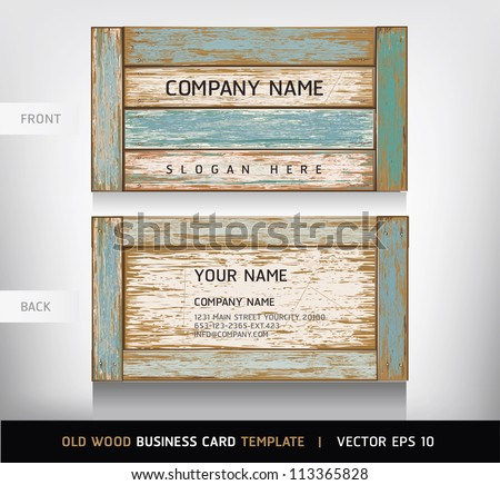 old wooden texture business