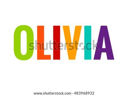 olivia female name vector
