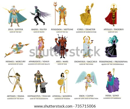 olympian greek gods
