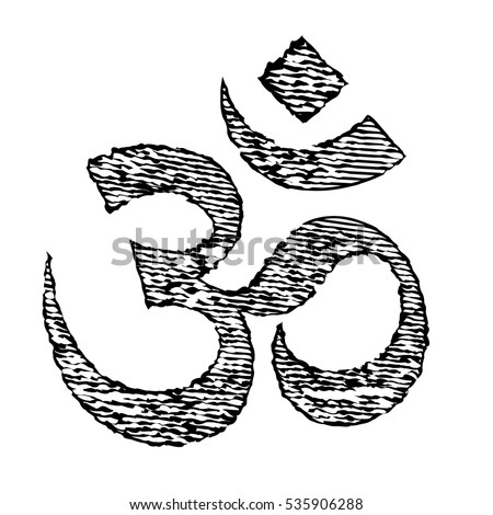 Royalty free hinduism symbol drawing 200113109 stock for Aum indian cuisine