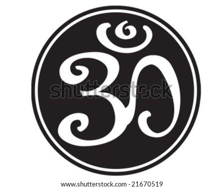 Om Aum Symbol