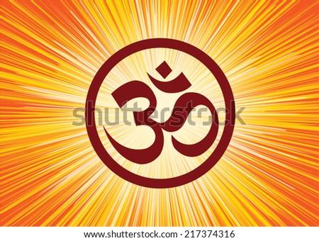 Vector Hindu Om Symbol Download Free Vector Art Stock Graphics