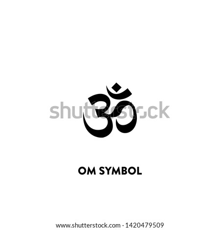 om symbol icon vector. om symbol sign on white background. om symbol icon for web and app
