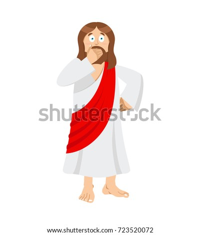 omg jesus is facepalm oh my