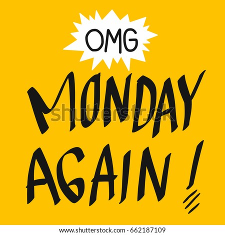 omg monday again word vector