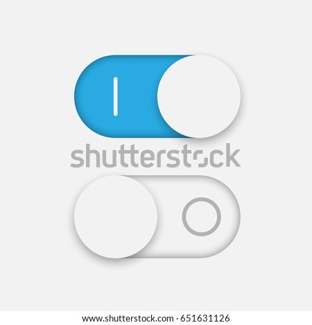 On and Off toggle Switcher