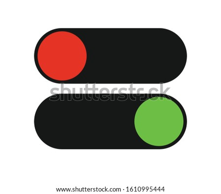 on off switch modern on off icon button on button