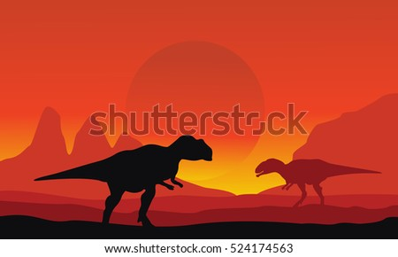 on the desert mapusaurus scenery