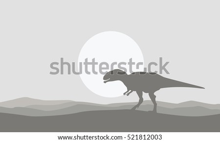 on the desert mapusaurus