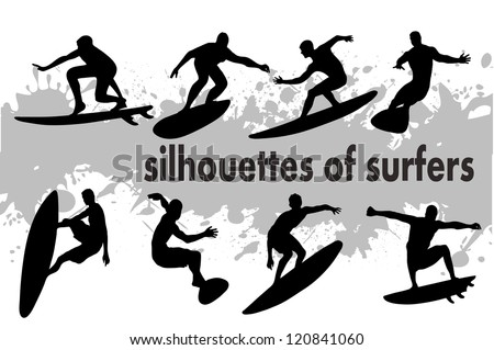 on the image the silhouette of