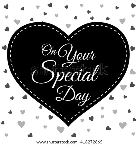 on your special day gothic